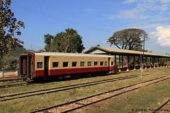 I_B_IMG_0377 (florian_grupp) Tags: asia myanmar burma train railway railroad yangon rangoon myanmarailways southeast metergauge metregauge 1000mm diesel locomotive lashio shan