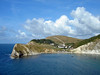 Lulworth Cove (RiverCrouchWalker) Tags: lulworthcove dorset clouds landscape uk greatbritain sea coast village cove geology chalk