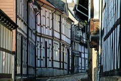 A street in Goslar, Germany (Unesco World Heritage) (Frans.Sellies) Tags: img6641 goslar germany duitsland deutschland