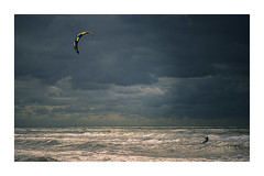 Sail Away (VanveenJF) Tags: zee sony a7ll nederland kitesurf ilce7m2 ilce 7mll