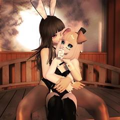 Bunny from the Hat (Mei-Mei Chan) Tags: magic bunny bunbun rabbit puppy inu dog cute kawaii anime