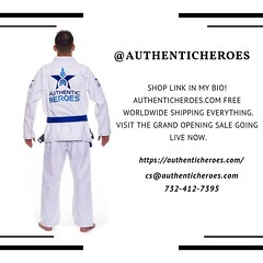 At Authentic Heroes, we create rebirth of collectible clothing. (Authentic Heroes) Tags: authenticcollection renzogracie favoritesport favoriteplayer shopping shoppingonline success judolover sportslover authentic nevergiveup gole
