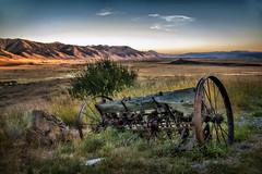 wyoming ranch (jody9) Tags: farmequipment ranch tetons wyoming