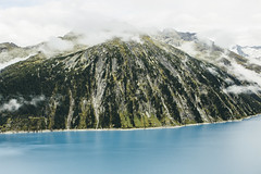 Moments (saminspeer) Tags: austria mountains alps alpen lake nature landscape clouds sky vintage cinematic film green tree justgoshoot simon alexander canon5dm3 canon2470 wild trip travel adventure hike hiking forest rock