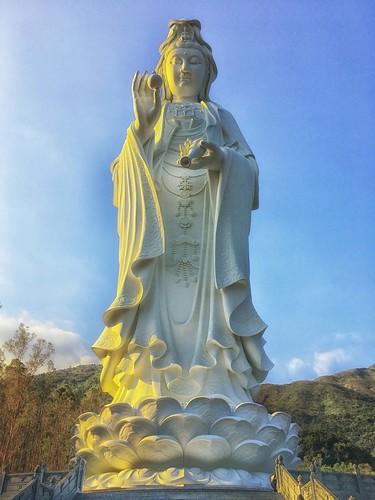 Goddess of Mercy - 慈 山 寺,香港 - Hong Kong