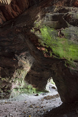 Court Cave (entrance) (RagbagPhotography) Tags: wemyss caves east eastwemyss fife scotland coast coastal path pict pictish symbols drawings engraving tour swacs