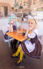 IMG_8122-2 (moshitea) Tags: 鏡音リン kagaminerin vocaloid hatsunemiku 初音ミク アニメ コスプレ コスプレイヤー girl fanime fanime2018 cosplay cosplayer