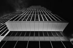 Looking up #2 (T.Seifer : )) Tags: architecture fx blackandwhite blackwhite lines building monochrome outdoors cityscape outside hamburg hafencity whiteandblack whiteblack urban design view