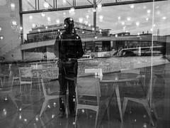 ... (Ewedan Photography) Tags: architektur blackwhite bw blackandwhite bnw bild czarnobiale czarnobiało czarnobiałe schwarzweiss schwarzweis schatten danielslominski deutschland art berlin ewedan einfarbig mensch people menschen reisen fenster germany human image pic pictures licht picture light mono monochrome kunst obraz fotografie fotografia foto photo photography ulica fujifilm fuji window streetphotography strase streetart streetstyle