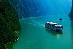 #YangtzeRiverCruises The Yangtze Gold cruise line is a company founded in this decade, but there are 7 luxury 5-star cruise ships: Yangtze Gold 1, 2, 3, 5, 6, 7, 8. If you are looking for the luxury and large cruise ship on Yangtze River, one of them coul (yangtze-river-cruise) Tags: yangtzerivercruise threegorgescruise