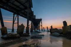 Catherine Hill Bay (leonsidik.com) Tags: leon sidik fujifilm sunset catherine hill bay australia nsw centralcoast longexposure bridge mining old history landscape 2017