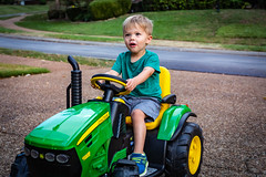 Moses Tractor Pull-2 (mmulliniks) Tags: sony a73 a7iii alpha 24105mm zoom sigma metabones portrait kids tractor faces sky bokeh bug insect macro lifestyle father son daddy nephew family
