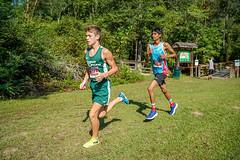 FLO05934 (chap6886@bellsouth.net) Tags: running run race girls boys team trees lake athletes action athletics america xc 5k highmiddleschool highschool