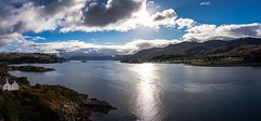 Skye high (Phil-Gregory) Tags: ngc scotland nikon d7200 tokina tokina1120mmatx isleofskye skye skyebridge panarama water clouds scenicsnotjustlandscapes waterscape