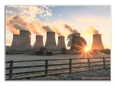 Full Steam Ahead (NiiiiiJ) Tags: ratcliffeonsoarpowerstation ratcliffe powerstation steam electricity power powergeneration coolingtowers frost field niiiiij nigelstewartphotography