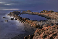 Fort Bragg California overlooking the Pacific Ocean (LOURENḉO Photography) Tags: california fort beach art night dark people glass glassbeach pacific pacificocean scenery ocean fortbragg bragg landscape