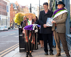_DSC4935 (BobPetUK) Tags: suffrage flag votesforwomen leeds 2018 relay suffragette