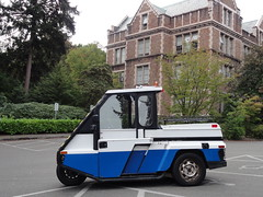 UW Campus GO-4 (3) (Handsomejimfrommaryland) Tags: go4 parking enforcement vehicle meter maid interceptor trike seattle halloween skeleton cemetery graveyard grave yard nude naked boobs boobies armpit hair blonde redhead brunette nipple nipples arm body three wheeler 3 canadian car motorcycle historic police nypd city belly ring go 4 uw university washington campus bt57 mazda 13l b3 engine nazi view is better from