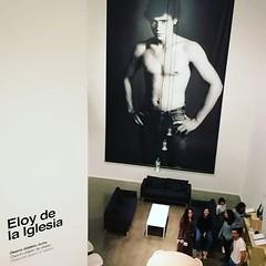 En la expo de #eloydelaiglesia en @tabakalera_donostia