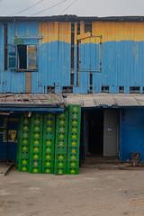 bo[o]th (k-os) Tags: africa blue rectangular accra ghana box jamestown