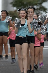 Young Dancers (Scott 97006) Tags: girls young dancer dance parade smile happy performing nike