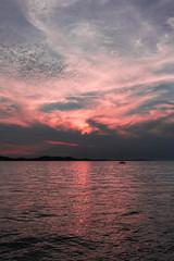 Sunset (Matthis Gbehou) Tags: sony sonya6000 sunlight lightroom croatie boat zadar sea