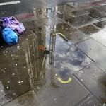 Invitation to view the rain as a pavement artist thumbnail