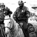It's not the SWAT team but the #IndianapolisMountedPolice. thumbnail