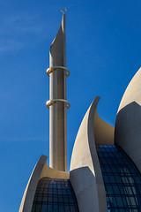 The minaret (jefvandenhoute) Tags: germany cologne köln mosque minaret islam geometric turkish