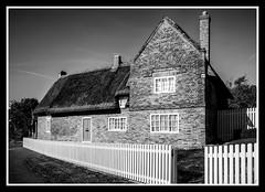1707 Cottage SEP (veggiesosage) Tags: blackandwhite nottingham gx20 sigma1020mmf456dc nikcollection