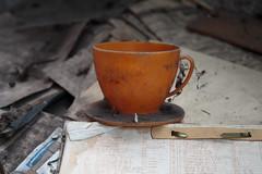 Sonja (bananahh) Tags: urbanexploration abandoned decay verlassen leer kaffeepause kaffee sonja