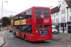 IMGP5428 (Steve Guess) Tags: ewellroad surbiton tolworth surrey england gb uk greater london bus tfl rbk united ratp scania sp omnidekka rear