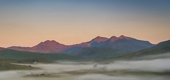 Snowdonia Dawn (Rob Pitt) Tags: wales north road trip mountain cymru rob pitt photography snowdonia landscape a7rii sony grass field sky camping mist morning sunrise capel curig animal water sunset canon 50mm