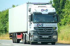 Mercedes Actros D&S YO12 PYH (SR Photos Torksey) Tags: transport truck haulage hgv lorry lgv logistics road commercial vehicle freight traffic mercedes actros ds