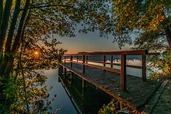 Fontanepark (karstenlützen) Tags: germany brandenburg markbrandenburg scharmützelsee badsaarow fontanepark waterfront atumn lakeside jetty lakeview sonyflickraward