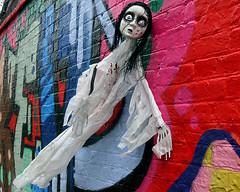 Shoreditch Ghost. (scats21) Tags: shoreditch streetart london graffiti