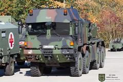 RMMV Mammut (Combat-Camera-Europe) Tags: rmmv rheinmetall hx hx81 man bw bundeswehr nato otan slt heer lkw transport logistik logistic militär military exercise exercises 8x8 germanarmedforces armoured cabin armouredcabin