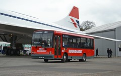 Preserved G29 TGW (tubemad) Tags: carlyle dennis dart g29tgw roundabout r1 brooklands cobham spring rally