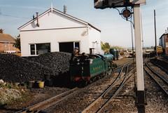 IMG_0007 Romney, Hythe and Dimchurch Miniature Steam train (monica_meeneghan) Tags: steamtrain