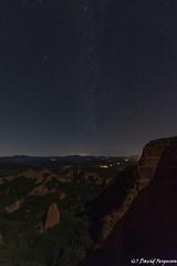 Milky Way rising (Daveoffshore) Tags: medulas stars milyway night mountain