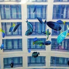 Aquarium with Rooms (Mike Bonitz) Tags: deutschland germany berlin hauptstadt capitolcity hotel radisonblue zimmer rooms fenster windows architektur architecture sealive aquadome aquarium tiere animals fische fishes instagram googlepixel
