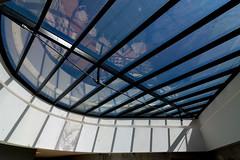 _DSC4881 (durr-architect) Tags: niemeyer cultural centre lehavre france modern architecture building volumes curves perret world heritage list maison culture veil concrete painted white volcan hyperbolic public library theatre