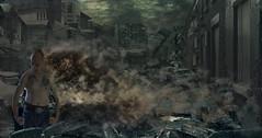 Destroyed (rockindave1) Tags: destroyedcity myself city adobephotoshopcs5 dxoopticspro11 dark canoneos1dsmk3