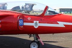 IMG_9628 (routemaster2217) Tags: northweald aviation aeroplane aircraft jetaircraft fighterjet jettrainer trainingaircraft follandgnatt1 bristolsiddeleyorpheus raf royalairforce aeroukholdingsltd xr537 gnaty turbojet