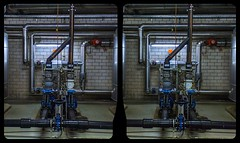 Moorbad Bad Elster 3-D / CrossView / Stereoscopy / HDRi (Stereotron) Tags: saxony sachsen vogtland badelster moorbad basement steel keller armaturen deutschland germany europe cross eye view xview crosseye pair free sidebyside sbs kreuzblick bildpaar 3d photo image stereo spatial stereophoto stereophotography stereoscopic stereoscopy stereotron threedimensional stereoview stereophotomaker photography picture raumbild twin canon eos 550d remote control kitlens 1855mm 100v10f tonemapping hdr hdri raw availablelight