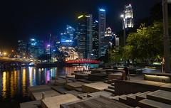 Singapore Esplanade Night (Corey Hamilton) Tags: d850 fullerton night singapore marianabaysands
