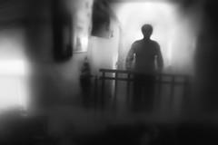 Between Worlds (delmarvajim) Tags: digitalart digitalprocessing digitaleffects digitalpainting fineart light shadow reflection drama creepy silhouette bw blackandwhite monochrome