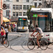 Trams and Bikes in Ghent