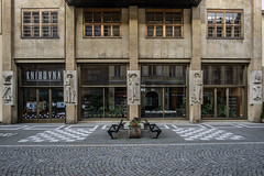 Knihovna Nachod (Maciej Dusiciel) Tags: architecture architectural city urban bookstore building street modern modernism nachod czech europe world travel sony alpha