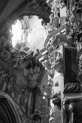El Transparente, Catedral Toledo (gbrammer) Tags: 35mm contaxiia sonnar5015 zeissikon delta400 film hc110 rangefinder spain